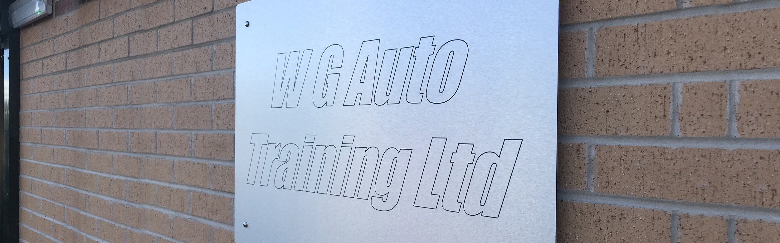 WG Auto Training Outside