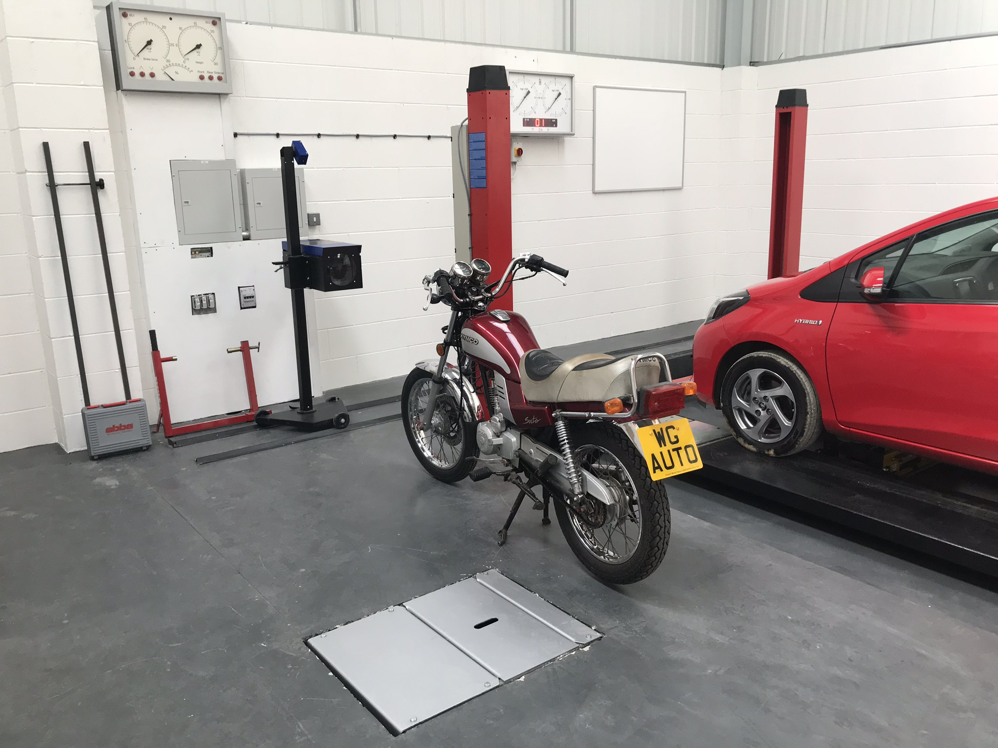 MOT Training Class 1 and 2